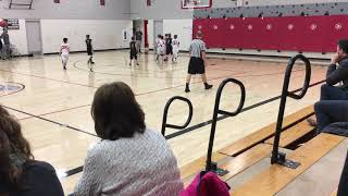 Jordan Whitby 4th grade basketball highlights Warriors 2017-2018