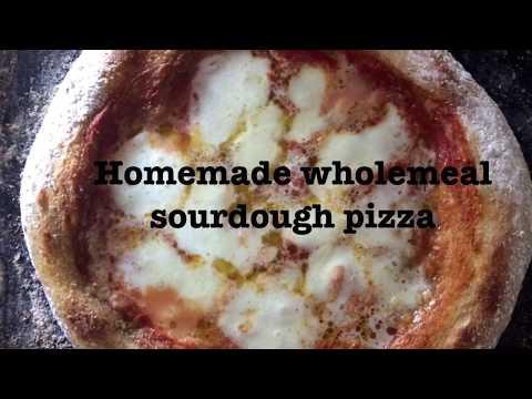 Homemade Wholemeal Sourdough Pizza