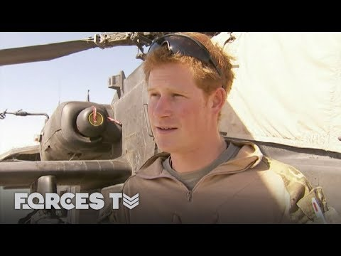 Prince Harry's Life With The Military | Forces TV