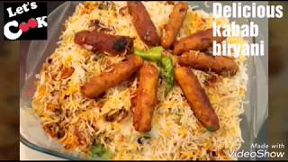 QUICK N DELICIOUS FAMOUS KABAB BIRYANI BY LET