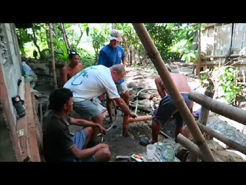 "Philippine Water Well Drilling... ""Getting Deeper"" ~ Video 3 ~ Santa Barbara Iloilo Phillipines"