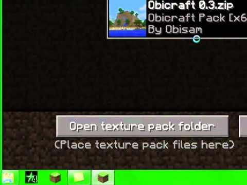 Tuto-Comment mettre un texture pack sur minecraft 1.8 FR - YouTube