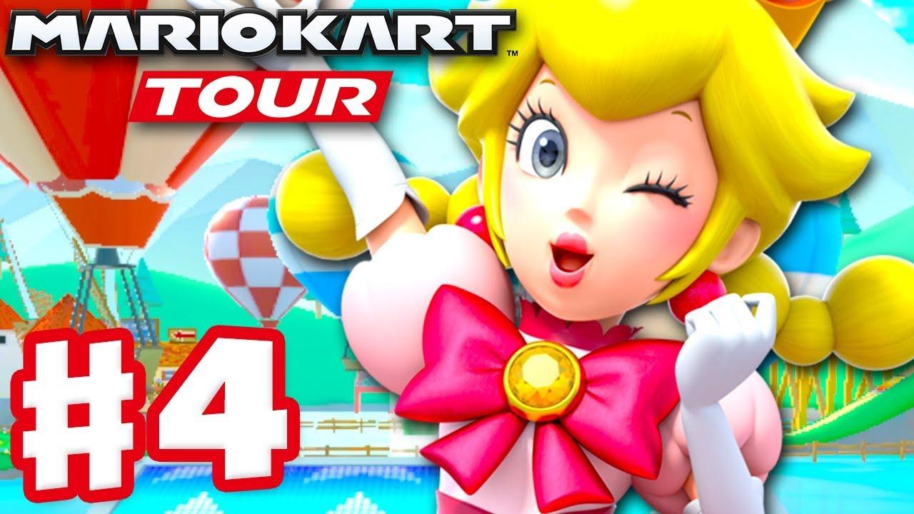 Mario Kart Tour Gameplay Part 4 Peachette New York Tour