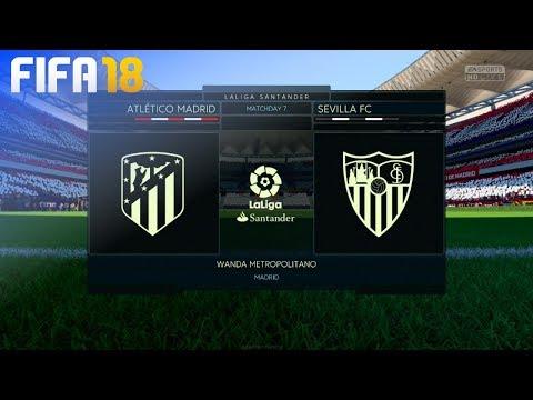 FIFA 18 - Atlético Madrid vs. Sevilla FC @ Wanda Metropolitano