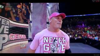 John Cena    Entrance WWE 2013