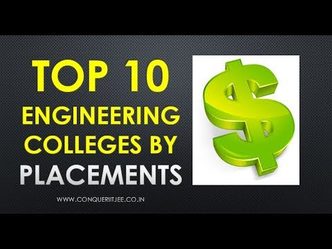Top 10 Engineering Colleges by Placements in INDIA