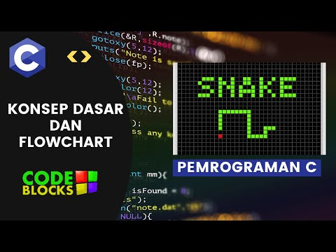 [PART 1] Flowchart & Konsep | SNAKE GAME C\C++