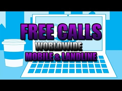 SKYPE - How To Make FREE Calls To ANYWHERE  | Mobiles And Landlines |