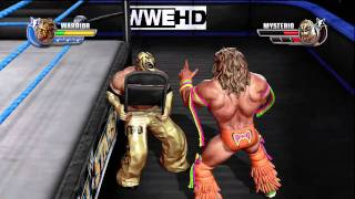 WWE All Stars Demo Gameplay Xbox 360 HD 720p