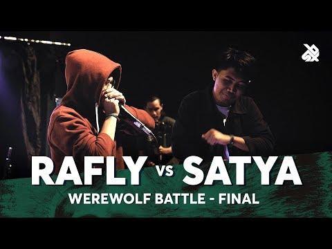 RAFLY vs SATYA | Werewolf Beatbox Championship 2018 | Final