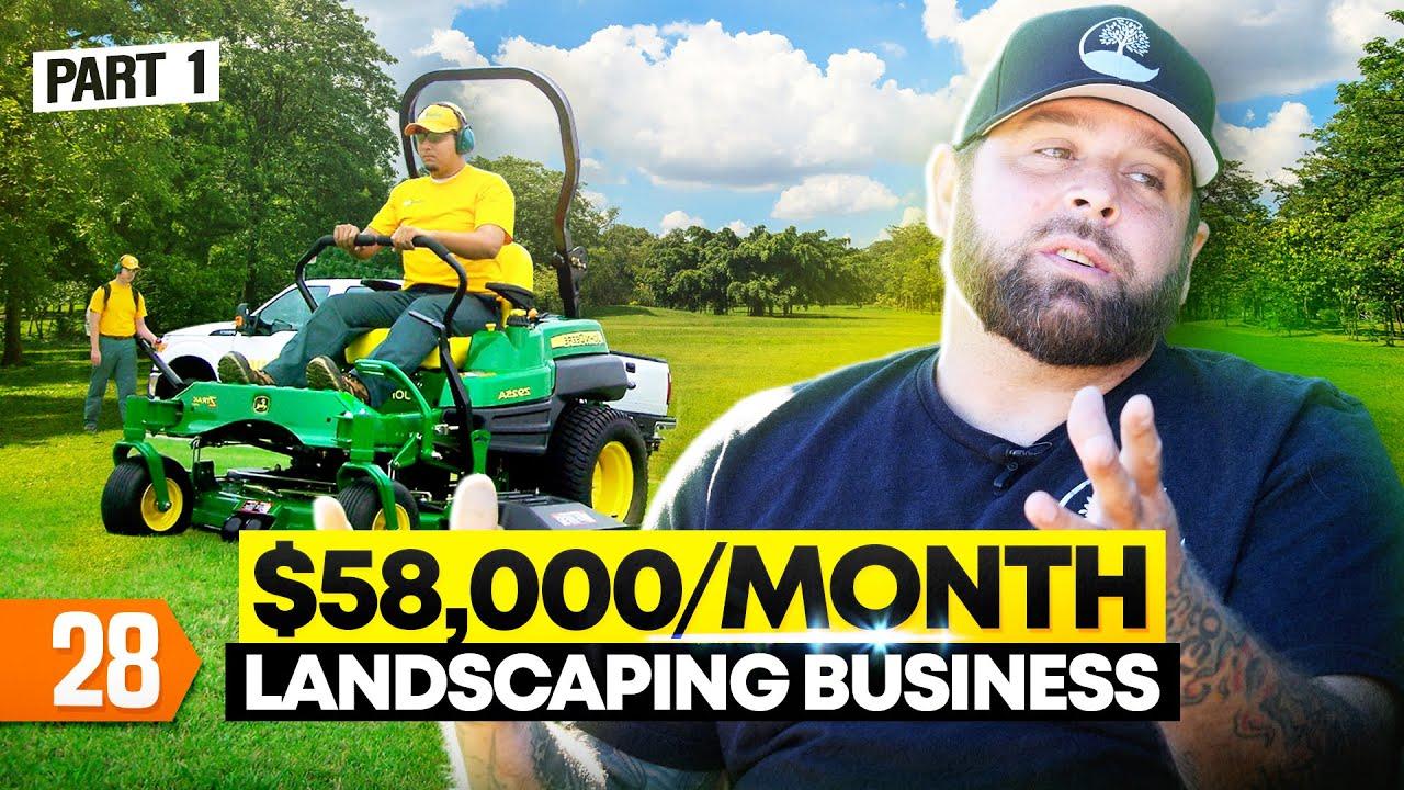Start Landscape Business