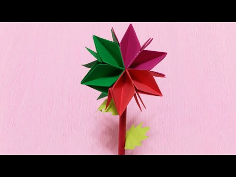 Easy And Simple Flower | Beautiful Flower Making | DIY Paper Flower Crafts