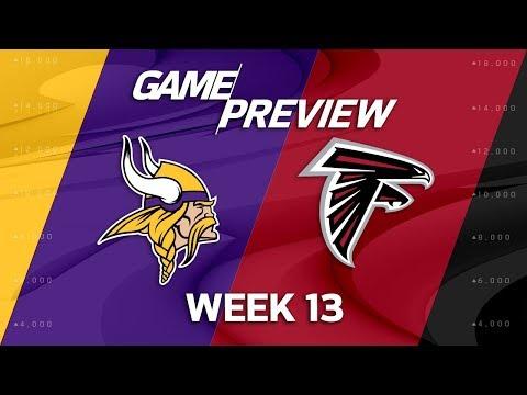 Minnesota Vikings vs. Atlanta Falcons | NFL Week 13 Game Preview | Move the Sticks