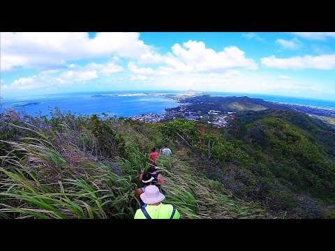 Friendship Garden Hike, Kaneohe, Hawaii (GoPro Session)