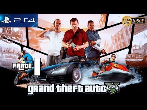 Grand Theft Auto 5 GTA V PS4 Gameplay Español Parte 1 Prologo Misión 1,2,3,4,5 Walkthrough XboxOne