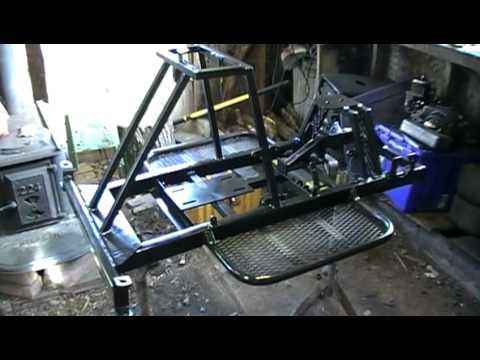 Racing Mower Re-build Update #19 (Part 2) - YouTube