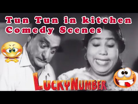 Tun Tun In Kitchen Comedy Scenes   Lucky Number Movie