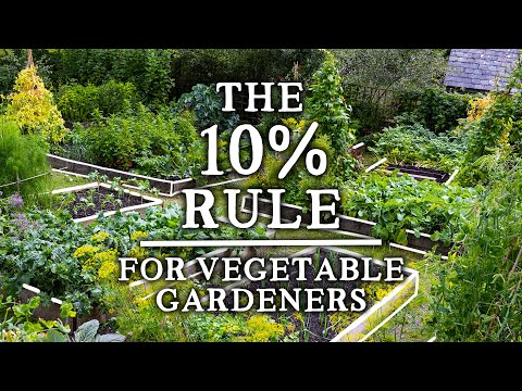 """The Incredible """"10% Rule"""" That Every Gardener Should Use   Increase Yields & Pollinators"""