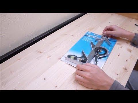 Unboxing querre a combinaison silverline youtube - Equerre a combinaison ...