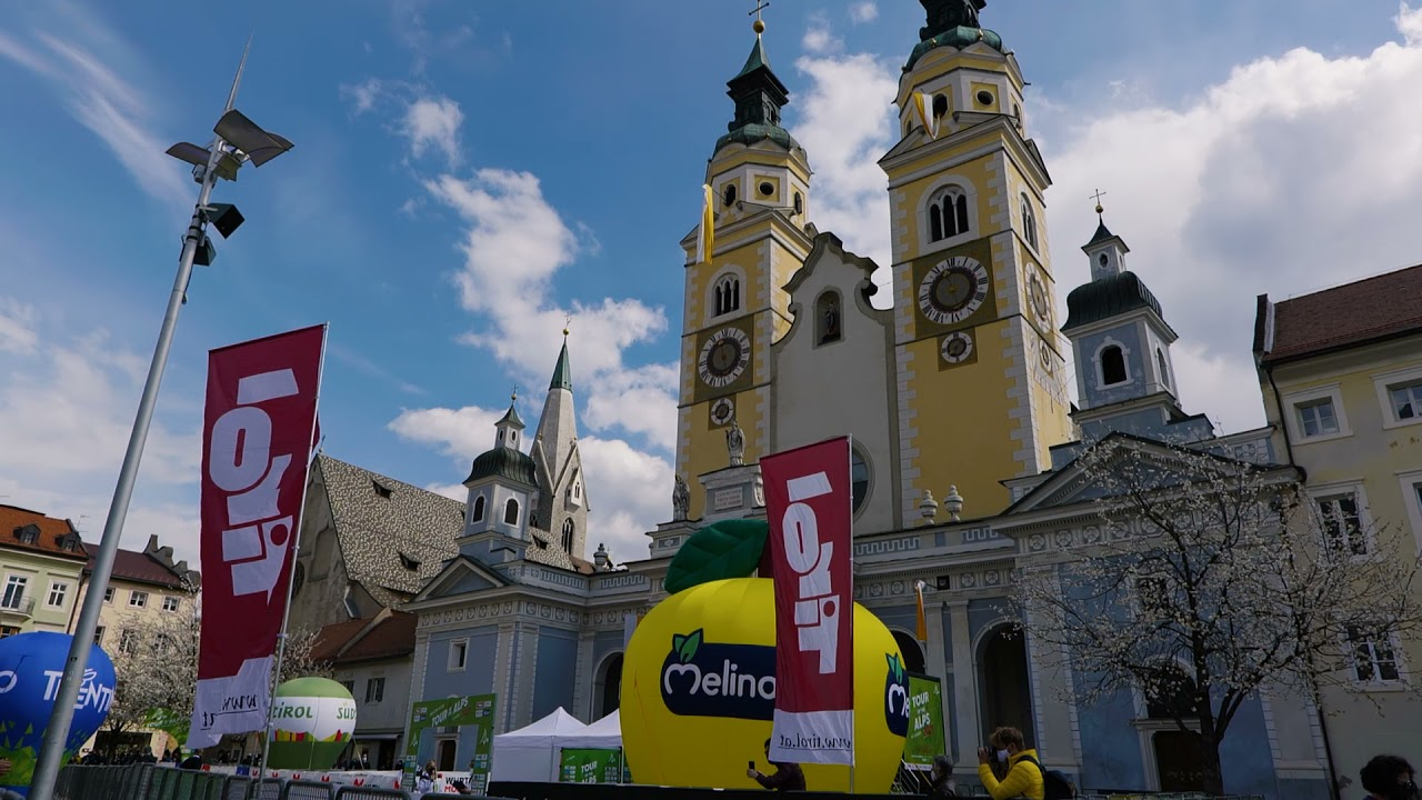 Brixen/Bressanone welcomes the Tour of the Alps