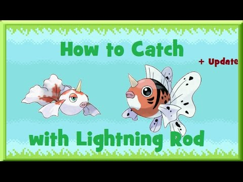 How to Find: Goldeen/Seaking with Lightning Rod + UPDATE