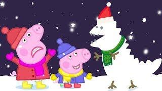 Peppa Pig Nederlands Compilatie Nieuwe Afleveringen ❄️ Sneeuw ❄️ Tekenfilm | Peppa de Big