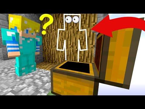 IL NE ME VOIT PAS DU TOUT ... ! | Minecraft