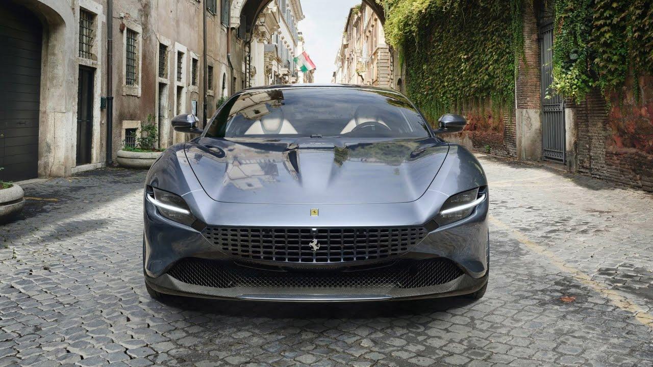 2020 Ferrari Roma Aston Martin Vantage Killer Youtube