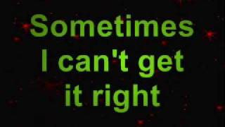 Sometimes I Cry Lyric Video