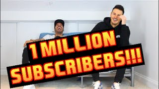 F2Freestylers reach a MILLION Subscribers !!!