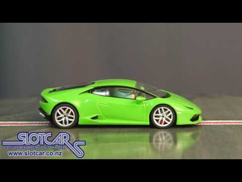 Carrera Slot Car Lamborghini Huracan LP 610 4 Road Car Green Slotcar 27493