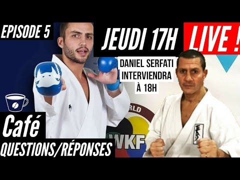 CAFÉ QUESTIONS/RÉPONSES avec les SERFATI !! LIVE - Episode 5