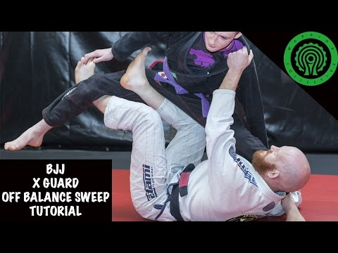 BJJ X-Guard Off Balance Sweep Tutorial