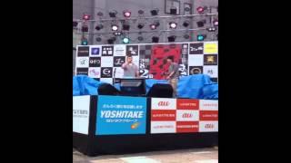 旭川さんろく祭り2012 カラオケのど自慢大会です。参加者のほとんどが演...