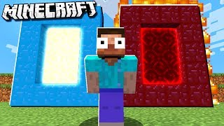 PORTAL to Heaven & The Underworld in Minecraft!