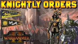 Knightly Orders Of The Empire: Knights Of The Blazing Sun & Knights Panther   Total War: Warhammer 2