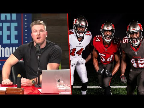 Pat McAfee Reacts To Buccaneers New Uniforms