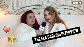 CAM4's Performer Coach Nikki Night Interviews Porn Star Ela Darling!