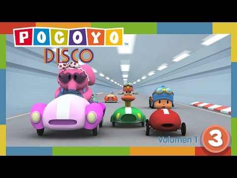 🎶 Pocoyó Disco 1x03 - La Gran Carrera | Música y Canciones Infantiles de Pocoyó