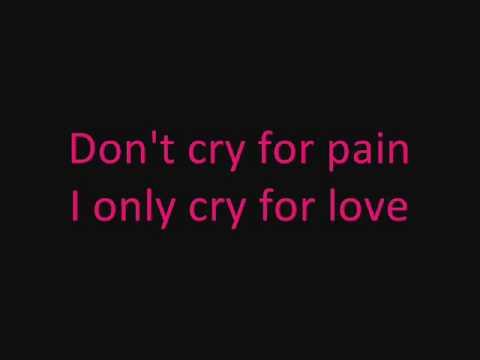 Ana Johnsson - Don't cry for pain + lyrics (on screen)