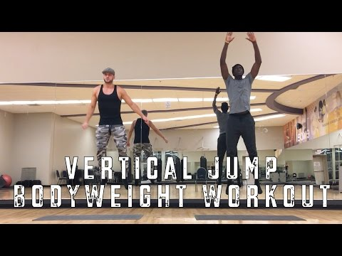 Vertical Jump Bodyweight Workout At Home