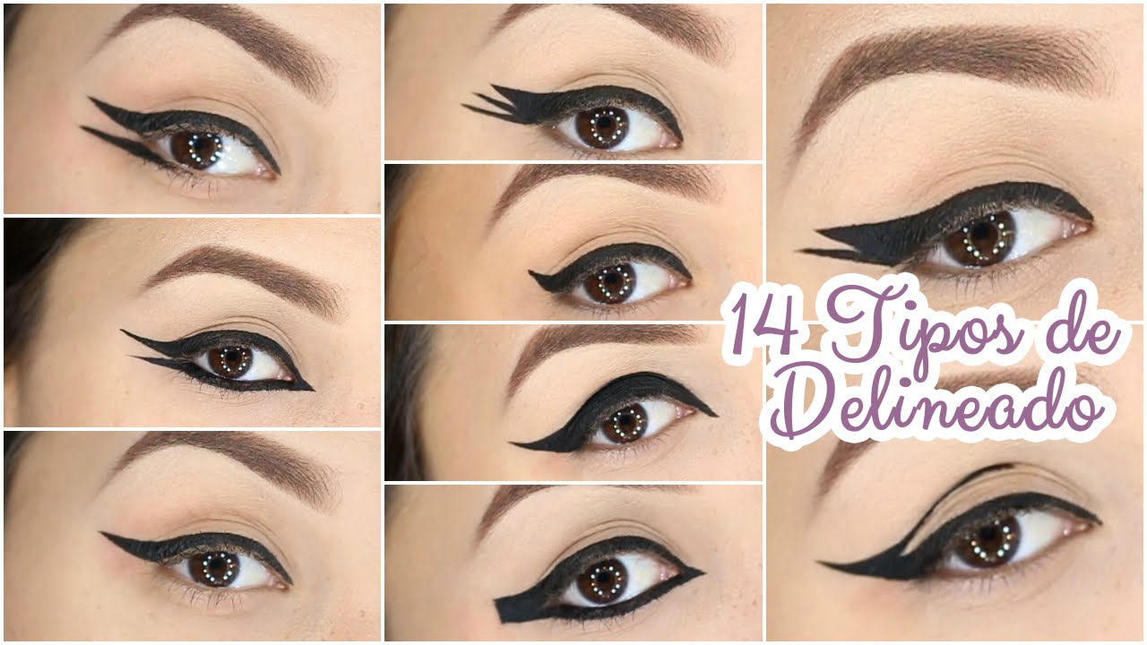 14 tipos de delineados diferentes 14 eyeliner styles for Diferentes tipos de viveros