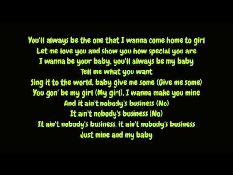 Rihanna - Nobody's Business Featuring Chris Brown (Lyrics HD)