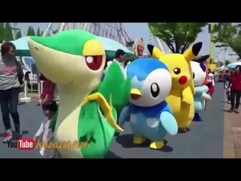 Boneka Pokemon Badut Lucu Banget