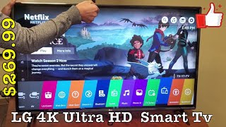 LG 4K Ultra HD Smart LED TV (UK6300) - Best Bang 4 the Buck & Why (2018 Model)