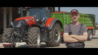 Case IH Optum CVXDrive - Klient marki Case IH na temat rolnictwa precyzyjnego