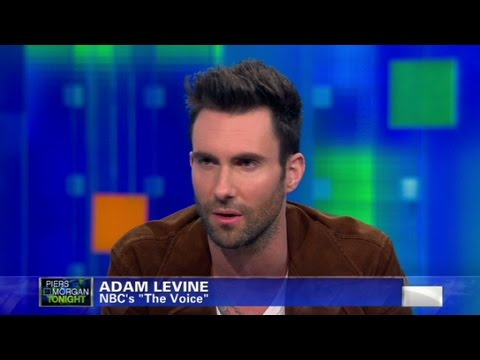 CNN Official Interview: Adam Levine judges Justin Bieber, Lady Gaga