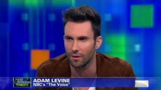 cnn official interview adam levine judges justin bieber lady gaga