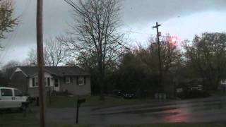 Tennessee Tornado Warning April 4, 2011