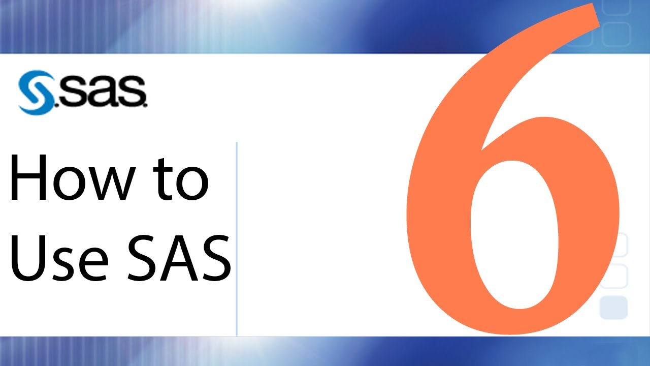 How To Use Sas Lesson 6 Sas Arithmetic And Variable Creation